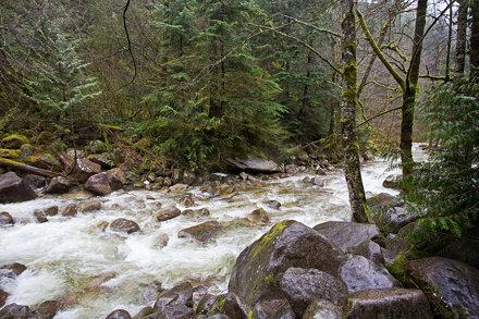 Shannon Falls, BC, Cananda