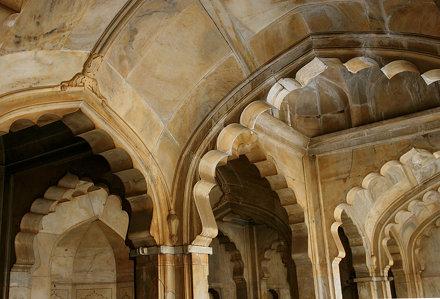 arches, Shahi Qila (Lahore Fort)