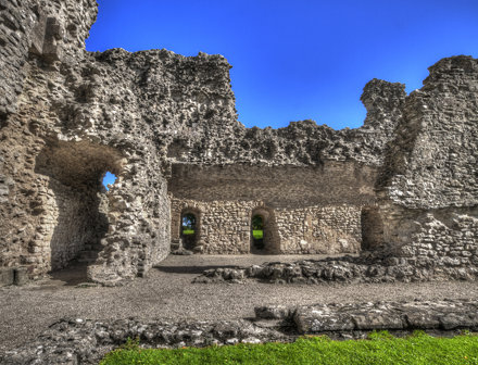 Sherborn Castle Dorset (old) Redux - 1