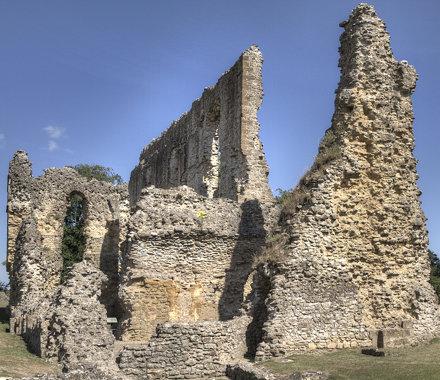 Sherborn Castle Dorset (old) HDR 5