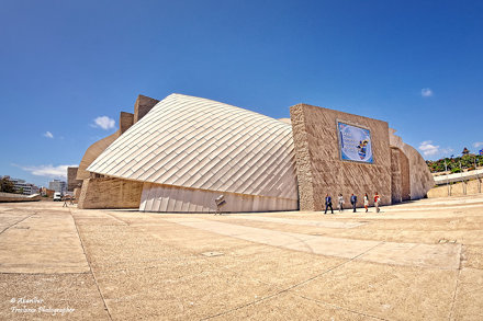 Magma Arte & Congresos. Tenerife (Fisheye vision)