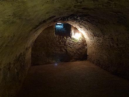 Podziemia wieży rycerskiej w Siedlęcinie