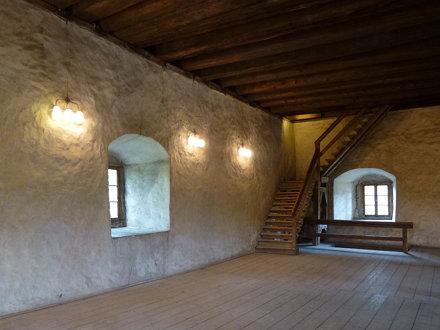 Trzecia kondygnacja wieży rycerskiej w Siedlęcinie