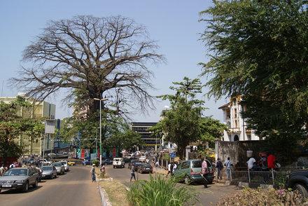 The Cotton Tree, Freetown