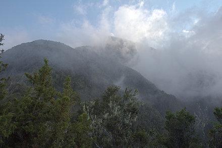 Sierra Maestra's highest peak: Pico Turquino