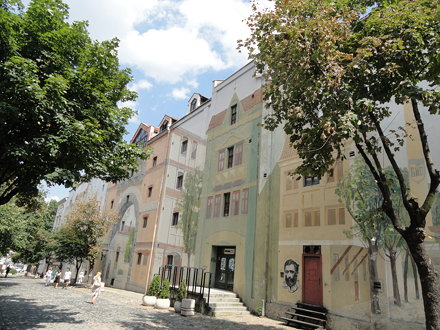 Skadarlija Area in Belgrade