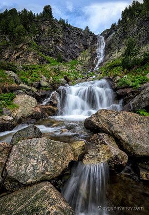Rilska skakavitsa waterfall