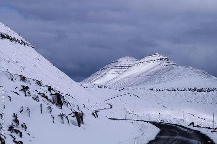 Føroyar & Ísland 2012 - road to Gjógv