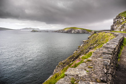 The Dingle bay, Ireland, Europe