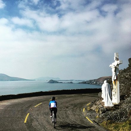 Knew Ireland would be good, but didn't expect it to be this good. | #Ireland #cycling #roadslik