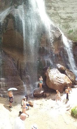 At Smith Falls