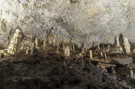 Inside Snezhanka Cave, 19.09.2015.