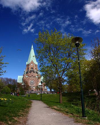Sofia Kyrka, Vitabergsparken, Stockholm