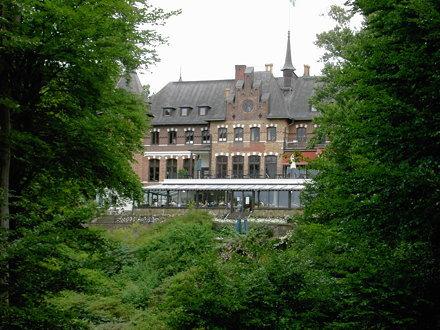 Sofiero slott från sjösidan