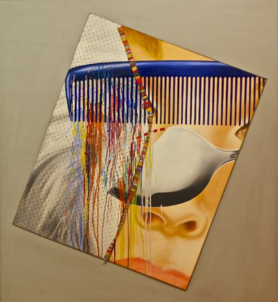 For Kiesler's Endless House (1963) - James Rosenquist (1933)