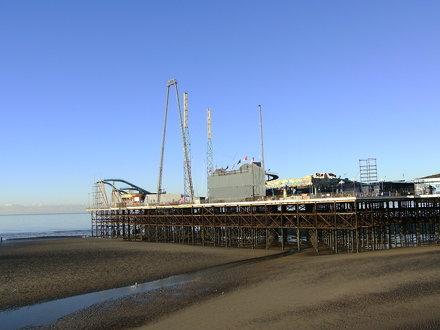 South Pier in December, 2010