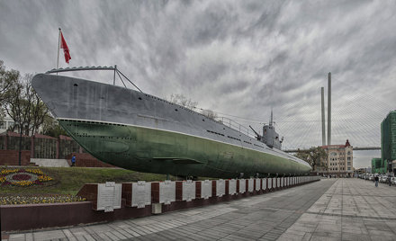S-56 Submarine, in Vladivostok