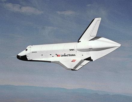 Enterprise Lands at Edwards (ECN-8611)