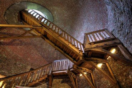 juliusturm - last stairs