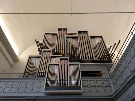 Orgel in Neanderkirche Düsseldorf