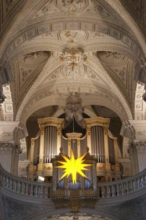 Orgel in Dominikaner Kirche Düsseldorf