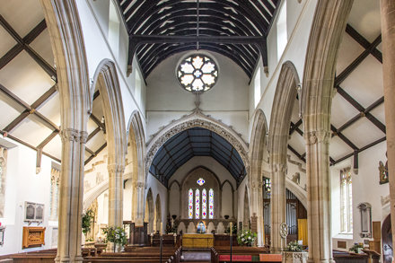 Church of St Andrew, Castle Combe, England