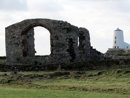 Remains of St Dwynwen's