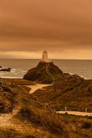 Lighthouse on Ynys Llanddwyn