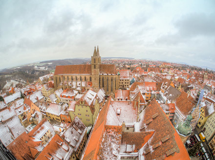 Rothenburg tower view