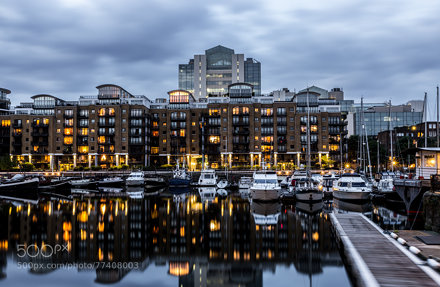 St Katherine Docks Reflections
