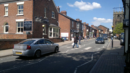 London Road, Holmes Chapel (A50)