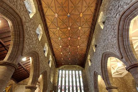 EA45-1980 St Machar's Heraldic Ceiling 1