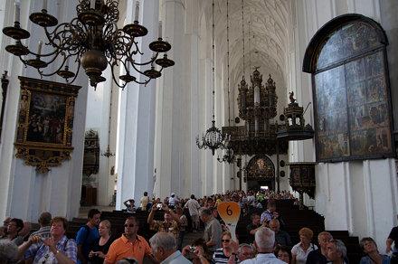 AIDAsol in Danzig - Marienkirche - Kirchenschiff
