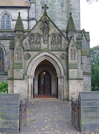 Porch, St Michael, Headingley