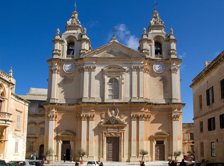 St Paul's Cathedral Mdina 1