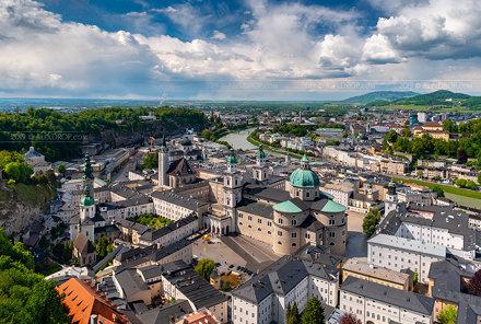 _DS14602 - Salzburg Oldtown viewed from Fortress Hohensalzburg