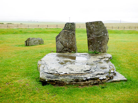Standing Stones of Stenness (2)