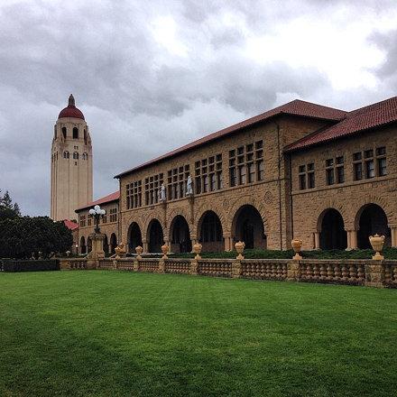 Всё тот же стэнфордский университет. Красота да и только. #stanford #university #campus #paloalto #u