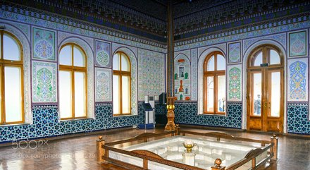 Room of islamic design