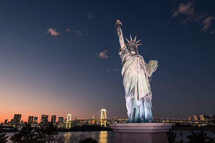 The Statue of Liberty - Tokyo, Japan - Travel photography