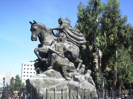 Statue de Saladin