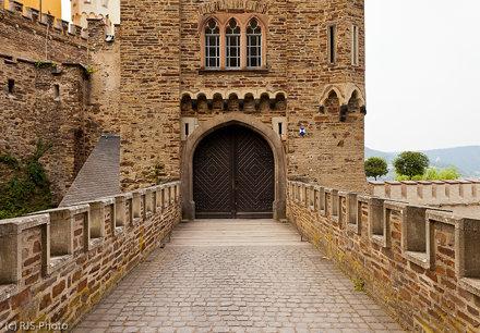 Eingang Schloss Stolzenfels