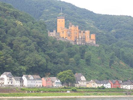 Rhein: Schloß Stolzenfels