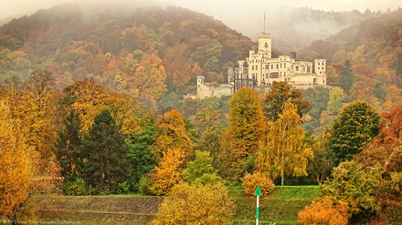 Autumn impressions (17): Stolzenfels Castle in Koblenz (Germany)/Herbstimpressionen (17): Schloss St