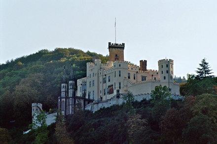 Schloss Stolzenfels, Koblenz (Die Aufnahme wurde mit einer Nikon F5 gemacht)