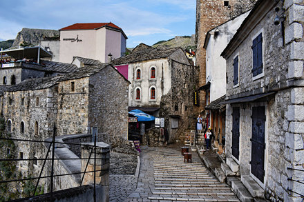 Mostar, Street in the Old Town