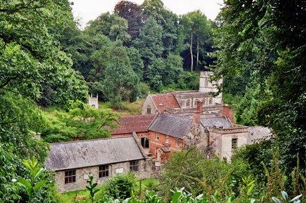 Eglise de Stourton, Wiltshire, Angleterre.