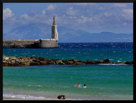 Straits of Gibraltar (Tarifa, Spain)