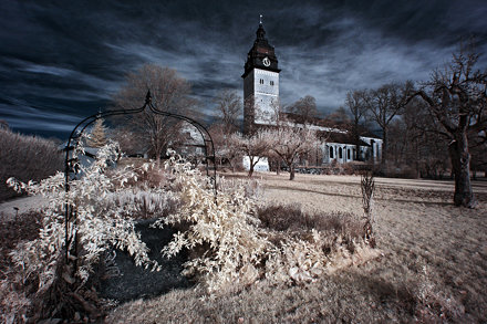 Strangnas Cathedral [Infrared]