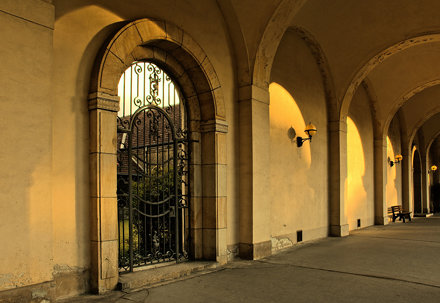Colonnades, South Cemetery Leipzig (Südfriedhof)